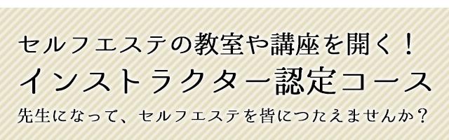 国際セルフエステアカデミー(旧 東京セルフエステ協会)認定コース