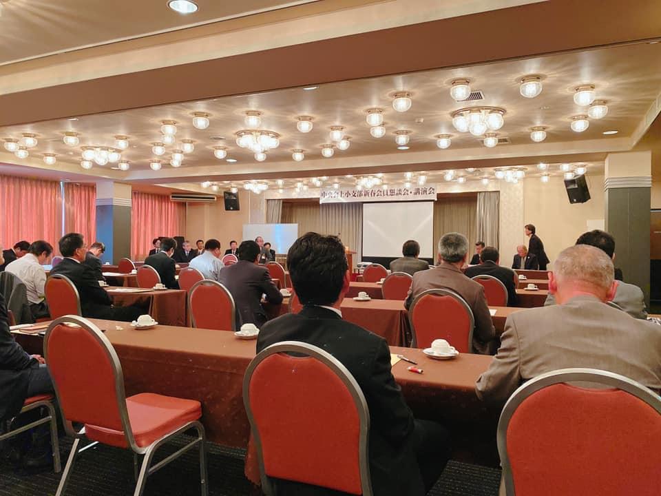 長野での講演会